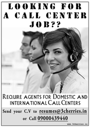 Openings in Domestic and International call centers,  secunderabad